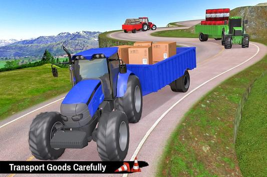 Tractor Trolley Parking Drive - Drive Parking Game screenshot 3