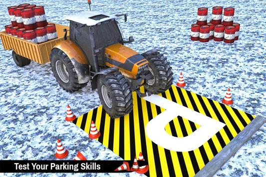 Tractor Trolley Parking Drive - Drive Parking Game screenshot 4