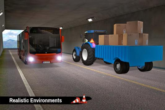 Tractor Trolley Parking Drive - Drive Parking Game screenshot 6