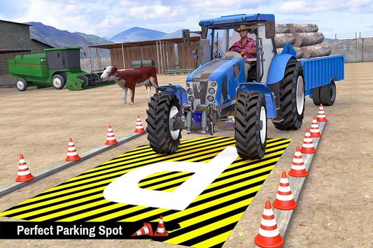 Tractor Trolley Parking Drive - Drive Parking Game screenshot 7