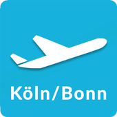 Cologne Bonn Airport: Flight information CGN icon