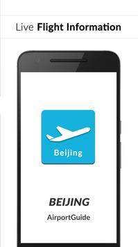 Beijing Airport Guide - Flight information PEK poster