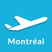 Montréal Trudeau Airport: Flight information YUL icon