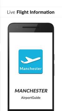 Manchester Airport Guide - Flight information MAN poster