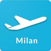 Milan Malpensa Airport: Flight information MXP icon