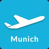 Munich Airport Guide - Flight information MUC icon