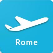 Rome Fiumicino Airport: Flight information FCO icon