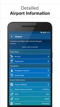 Rome Fiumicino Airport: Flight information FCO screenshot 1