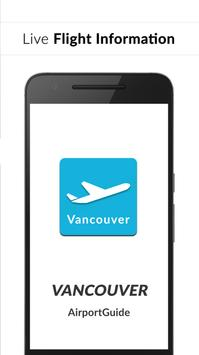 Vancouver Airport Guide - Flight information YVR poster