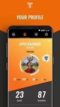 TRACKTICS Player - Become a better footballer screenshot 1