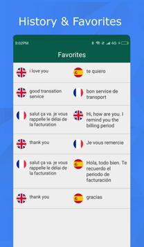 Translator for text, web pages & photos. 100% free screenshot 4