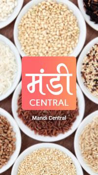 Mandi Central - Agriculture info & Mandi rates poster