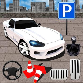 Muscle Car Drive Parking poster