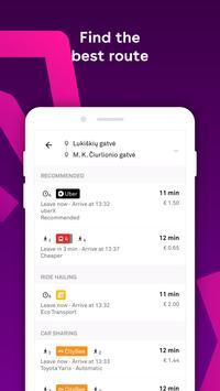 Trafi screenshot 1
