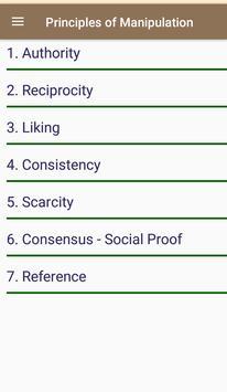 The 6 Principles of Manipulation screenshot 3