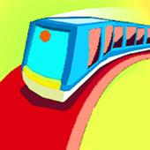 train the taxi driver icon