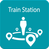 Nearby Train Station icon