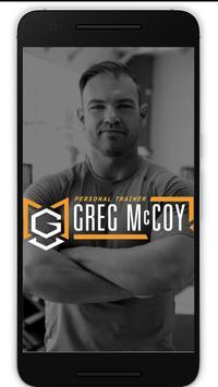 Greg McCoy Training poster