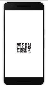 MeanCurlz Fitness poster