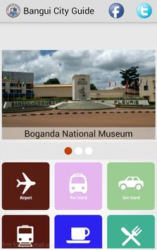 Bangui City Guide poster