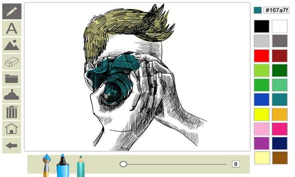 Doodle on the screen screenshot 13