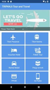 TRIPANJI Tour dan Travel screenshot 1