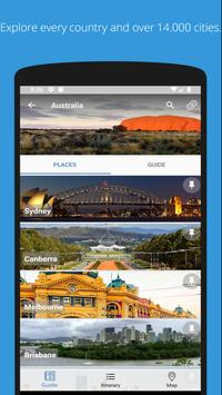 Pin Your Trip: Travel Planner & Wikivoyage guide screenshot 1