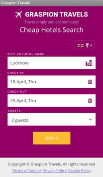 Online Flight & Hotel Bookings screenshot 2