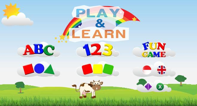 Play and Learn for kid poster