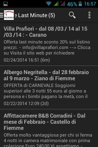 Trentino Last Minute for Android - APK Download