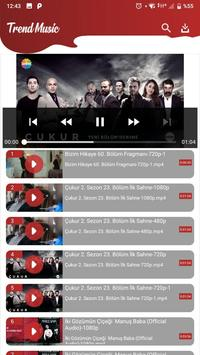 Trend Music - MP3 and Video Player Tube Downloader screenshot 3