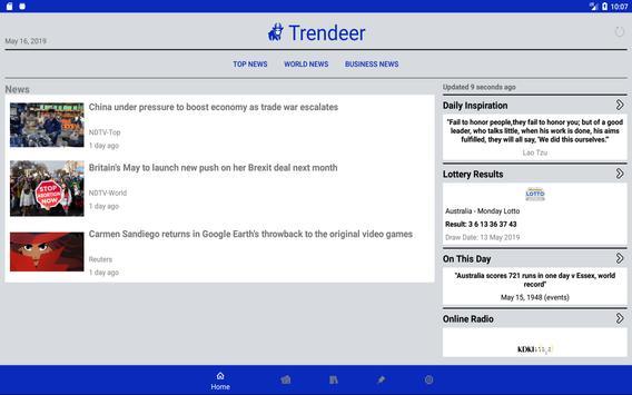 Trendeer News screenshot 8