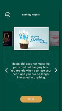 Happy Birthday Wishes - जन्मदिन की शुभकामनाएं 2019 screenshot 2