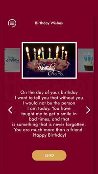 Happy Birthday Wishes - जन्मदिन की शुभकामनाएं 2019 screenshot 3