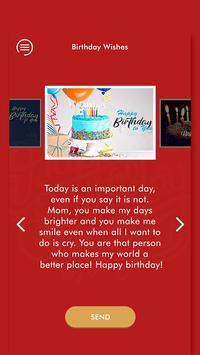 Happy Birthday Wishes - जन्मदिन की शुभकामनाएं 2019 screenshot 4