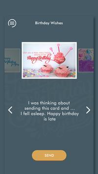 Happy Birthday Wishes - जन्मदिन की शुभकामनाएं 2019 screenshot 5