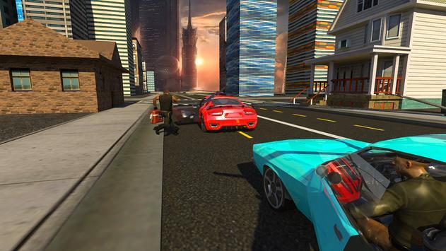Futuristic Flying Car 3D: Rescue Game screenshot 15
