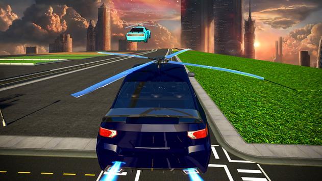 Futuristic Flying Car 3D: Rescue Game screenshot 12