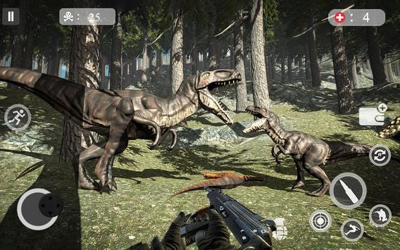 Dinosaur Hunter 2019 - Dinosaur Hunting Games poster