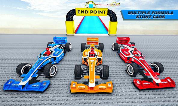 Gt Formula Car Racing Stunts : Impossible Tracks screenshot 2