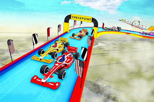 Gt Formula Car Racing Stunts : Impossible Tracks screenshot 17