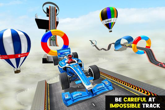 Gt Formula Car Racing Stunts : Impossible Tracks screenshot 13