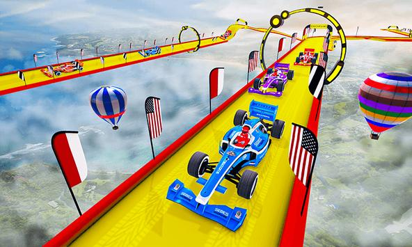 Gt Formula Car Racing Stunts : Impossible Tracks screenshot 3