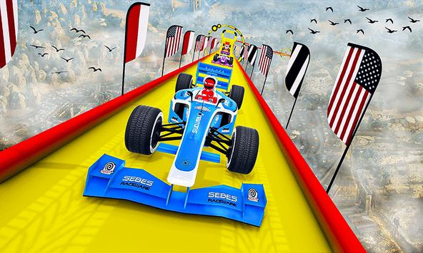 Gt Formula Car Racing Stunts : Impossible Tracks screenshot 4