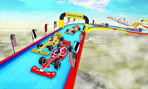 Gt Formula Car Racing Stunts : Impossible Tracks screenshot 5