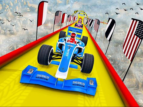 Gt Formula Car Racing Stunts : Impossible Tracks screenshot 10