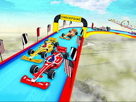 Gt Formula Car Racing Stunts : Impossible Tracks screenshot 11