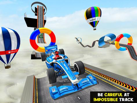 Gt Formula Car Racing Stunts : Impossible Tracks screenshot 7