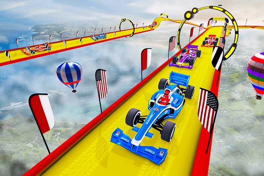 Gt Formula Car Racing Stunts : Impossible Tracks screenshot 15
