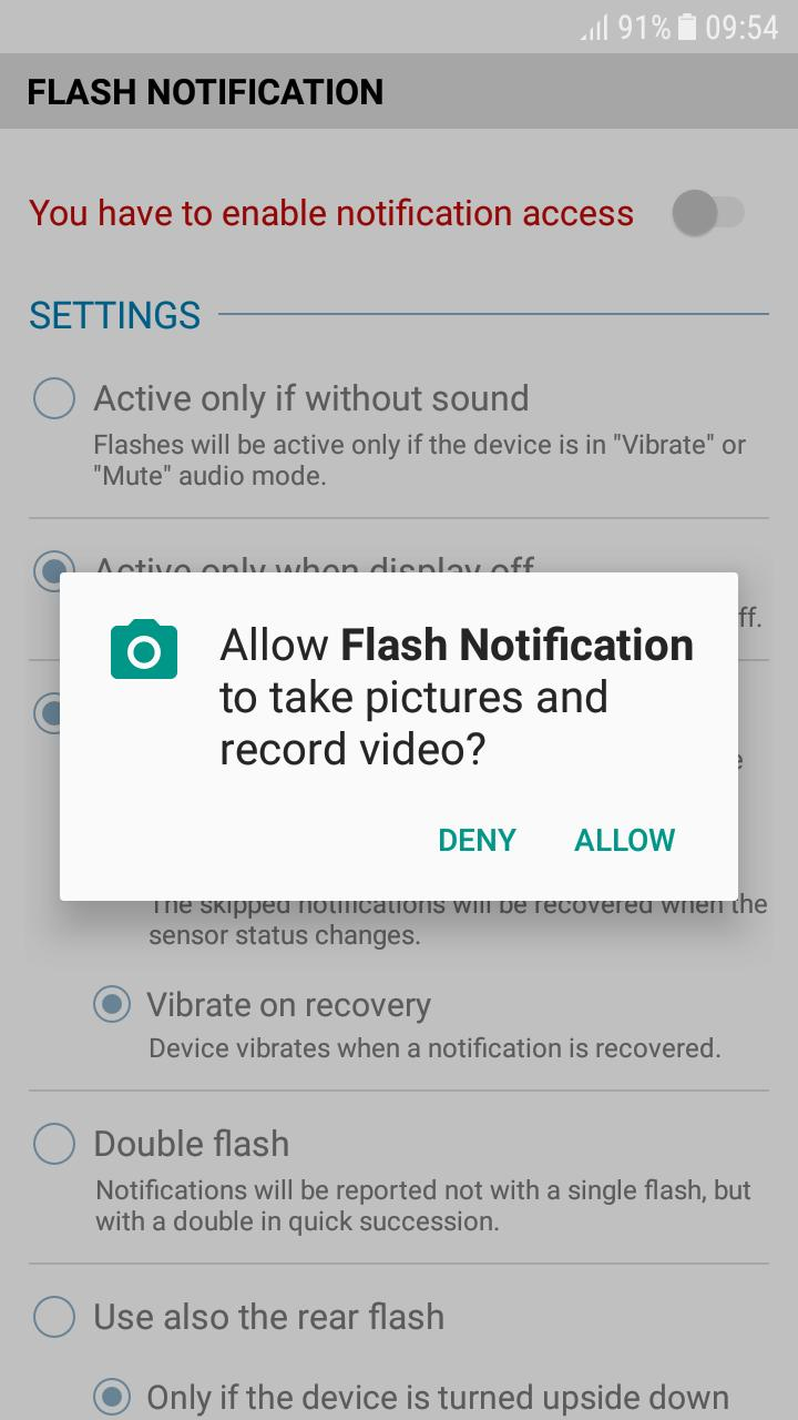 FrontFlash Notification for Android - APK Download